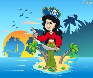 Rompicapo di Donna pirata