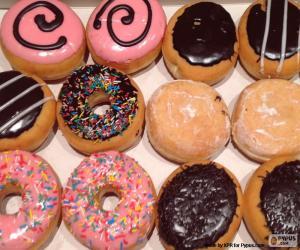 Rompicapo di Donuts varie
