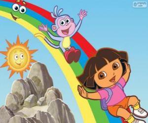 Rompicapo di Dora, Boots e l'Arcobaleno