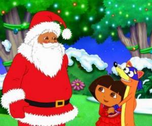 Rompicapo di Dora il cattivo di Zorro con Babbo Natale