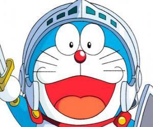 Rompicapo di Doraemon in una delle sue avventure