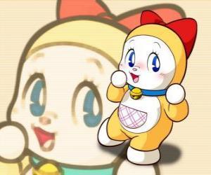 Rompicapo di Dorami, Dorami-chan è la sorella minore di Doraemon