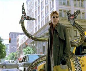 Rompicapo di Dottor Octopus è uno scienziato pazzo molto intelligente, uno dei più grandi nemici di Spider-Man