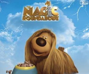 Rompicapo di Dougal, il cane a pelo lungo da The Magic Roundabout