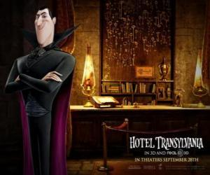 Rompicapo di Dracula, il proprietario dell'Hotel Transilvania