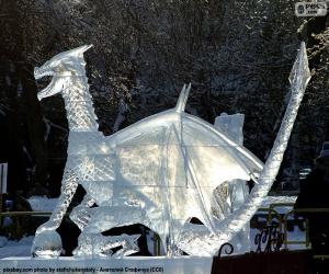 Rompicapo di Drago di ghiaccio