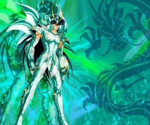 Rompicapo di Dragon Shiryu, uno dei cinque eroi di Saint Seiya. Il cavaliere di bronzo della costellazione del drago