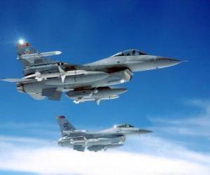 Rompicapo di Due aerei da caccia