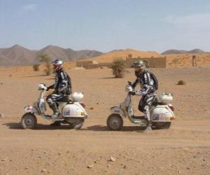Rompicapo di Due avventurieri su una motocicletta
