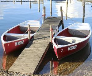 Rompicapo di Due barche a remi