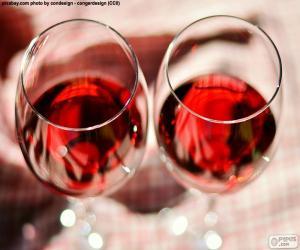 Rompicapo di Due bicchieri di vino