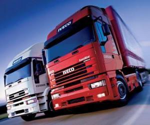 Rompicapo di Due camion Iveco