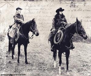 Rompicapo di Due donne cowboy