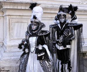 Rompicapo di Due eleganti costumi