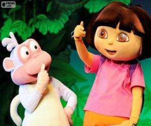 Rompicapo di Due grandi amici, Dora e Boots