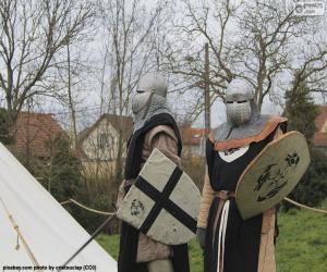 Rompicapo di Due soldati del Medioevo