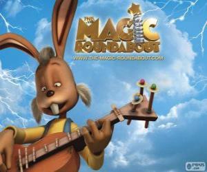 Rompicapo di Dylan, il coniglio che suona la chitarra