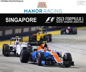 Rompicapo di E. Ocon, GP di Singapore 2016