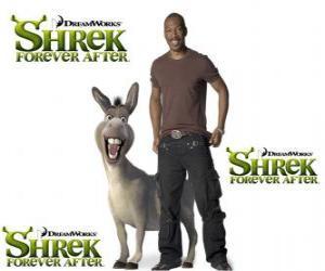 Rompicapo di Eddie Murphy fornisce la voce di Ciuchino, l'ultimo film Shrek e vissero felici e contenti