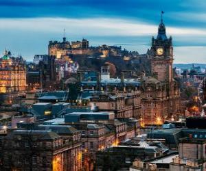 Rompicapo di Edimburgo, Scozia, Regno Unito