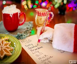 Rompicapo di Elenco di Babbo Natale