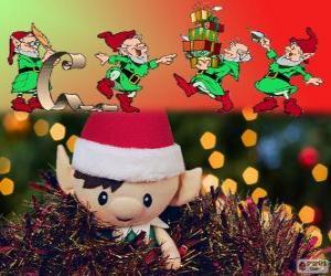 Rompicapo di Elfi di Natale