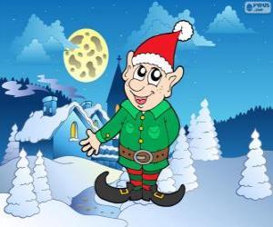 Rompicapo di Elfo di Babbo Natale