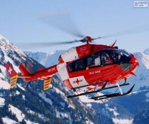 Rompicapo di Elicottero di salvataggio svizzero
