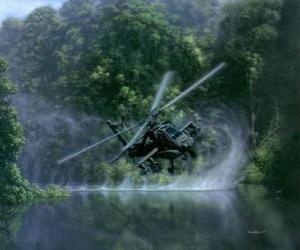 Rompicapo di Elicottero Hughes AH-64 Apache