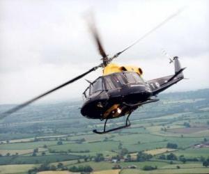 Rompicapo di Elicottero in azione