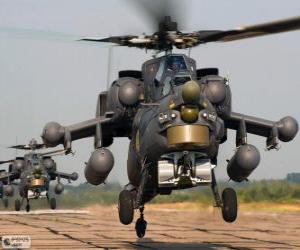 Rompicapo di Elicottero militare