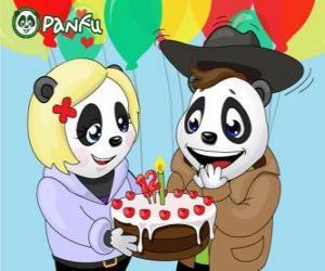 Rompicapo di Ella porta una torta per festeggiare il suo compleanno Max