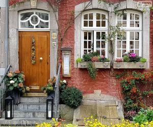 Rompicapo di Entrata di una casa