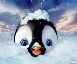 Rompicapo di Erick è il personaggio principale in Happy Feet 2