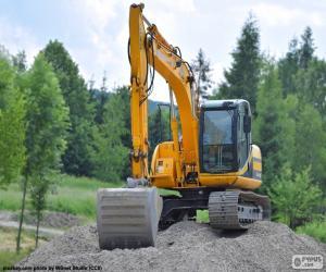 Rompicapo di Escavatore giallo