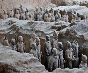 Rompicapo di Esercito di terracotta, Cina