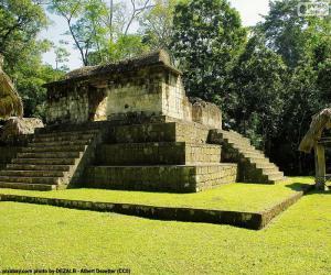 Rompicapo di Est A-3, Seibal, Guatemala