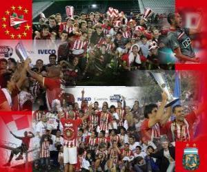 Rompicapo di Estudiantes de La Plata - Apertura Championship 2010 in Argentina