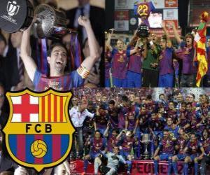 Rompicapo di F. C Barcellona campione Copa del Rey 2011-2012