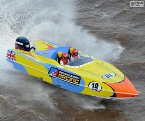 Rompicapo di F1 motonautica