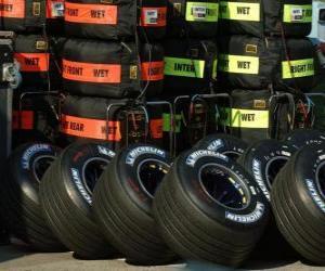 Rompicapo di F1 pneumatici