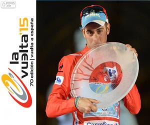 Rompicapo di Fabio Aru Vuelta a España 2015
