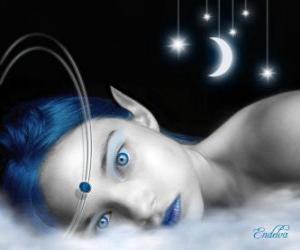 Rompicapo di Fairy occhi azzurri