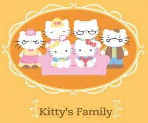 Rompicapo di Famiglia Hello Kitty