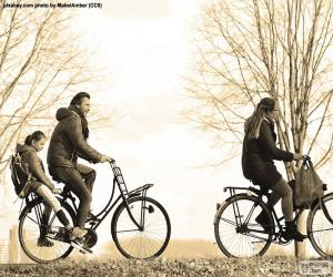Rompicapo di Famiglia in bicicletta