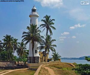 Rompicapo di Faro di Galle, Sri Lanka