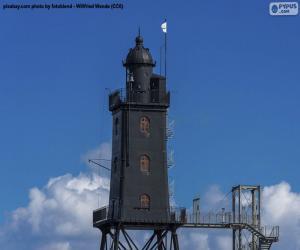 Rompicapo di Faro di Obereversand, Germania