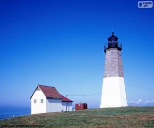 Rompicapo di Faro di Point Judith, Stati Uniti d'America