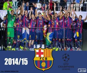 Rompicapo di FC Barcellona camp Champions 15
