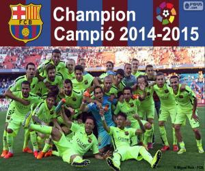 Rompicapo di FC Barcelona, campione 14-15